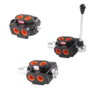 Manual and Hydraulic Pilot Selector Valves